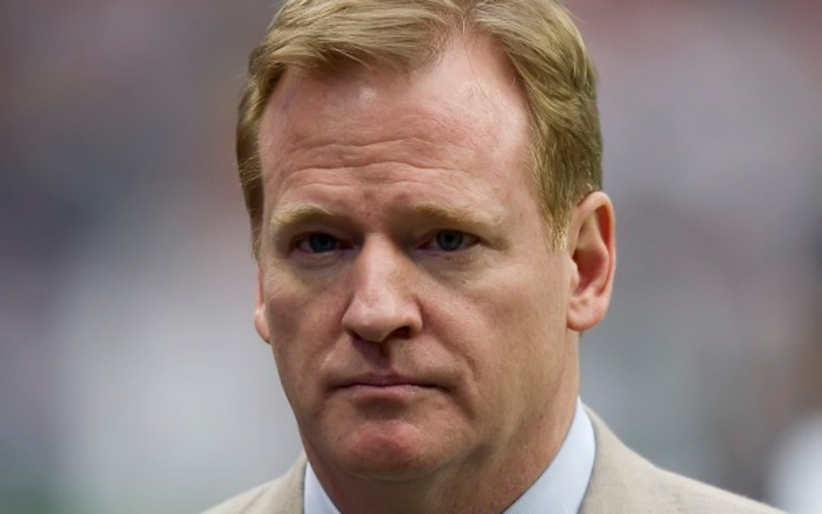"""NFL Commissioner Roger Goodell discussed to possibilty of a rotation for the HBO show """"Hard Knocks. (Getty Images)"""
