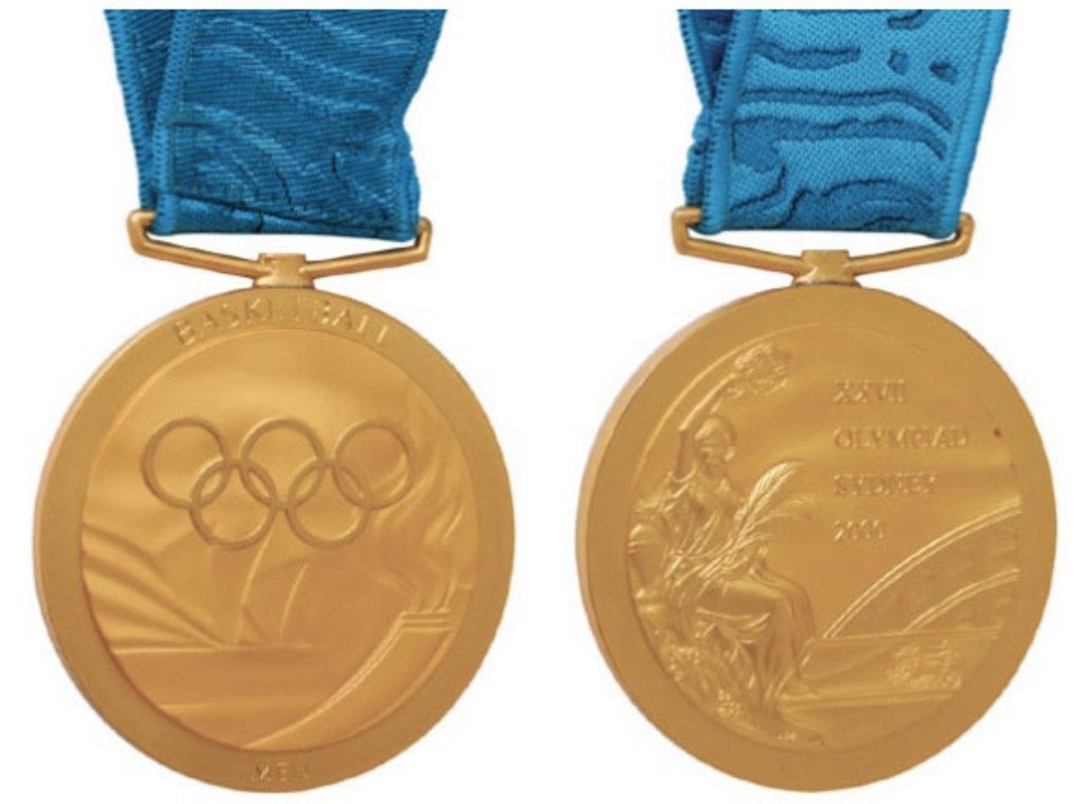 Vin Baker gold medal