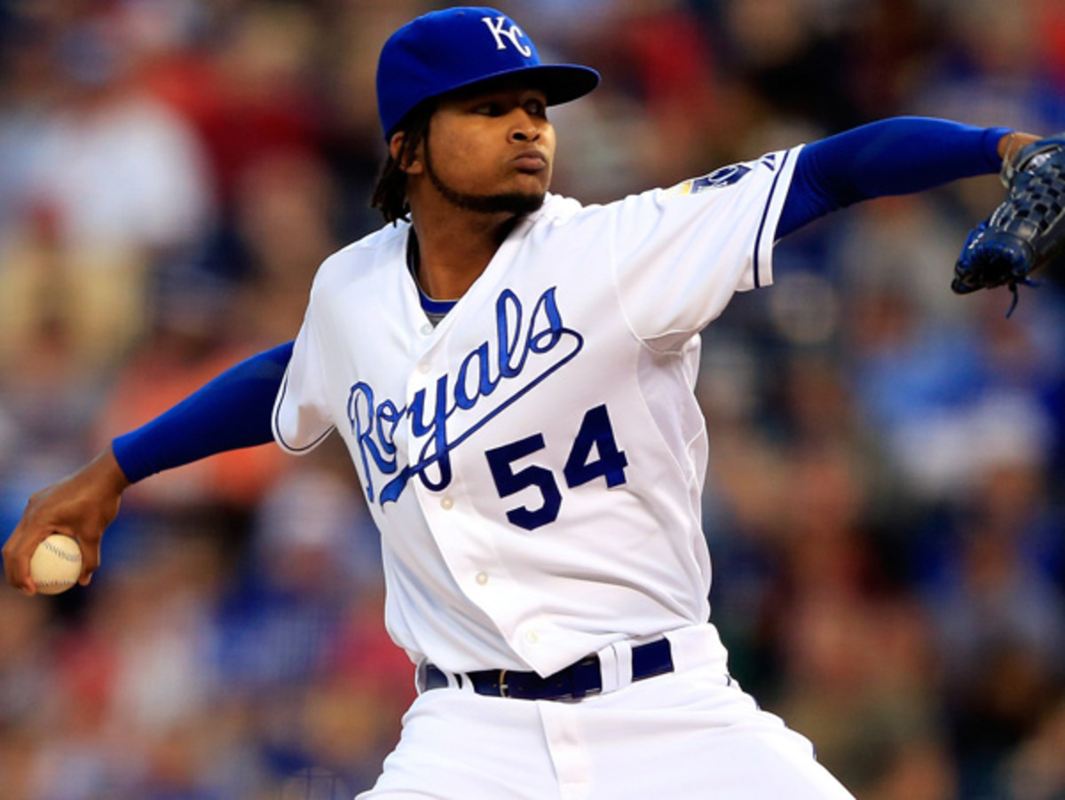 Atlanta will be Ervin Santana's first tour of the National League after stops in Anaheim and Kansas City. (Jamie Squire/Getty Images)