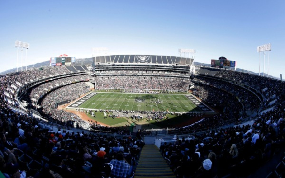 This could be the last season the Oakland Raiders play in O.co Coliseum. (AP Photo/Tony Avelar)