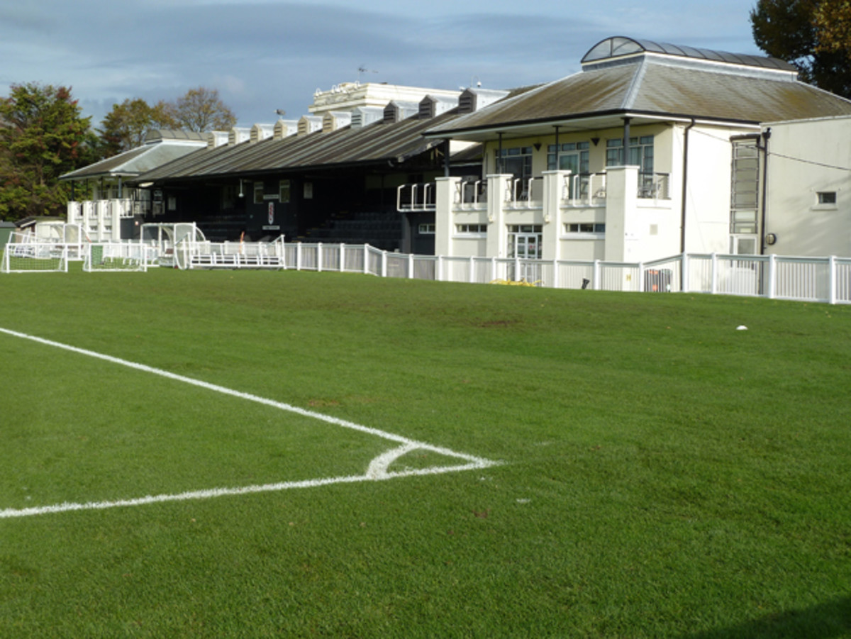 Next to Motspur Park's main field, where Fulham's U-21s often play, used to be a track where Roger Bannister made one of his 4-minute mile attempts and where Chariots of Fire was filmed.