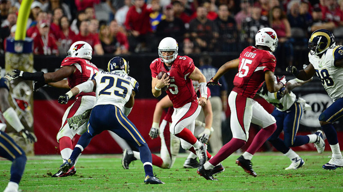 Drew Stanton went 2-1 as the starter while subbing for Carson Palmer earlier this season. (John Biever/Sports Illustrated/The MMQB)