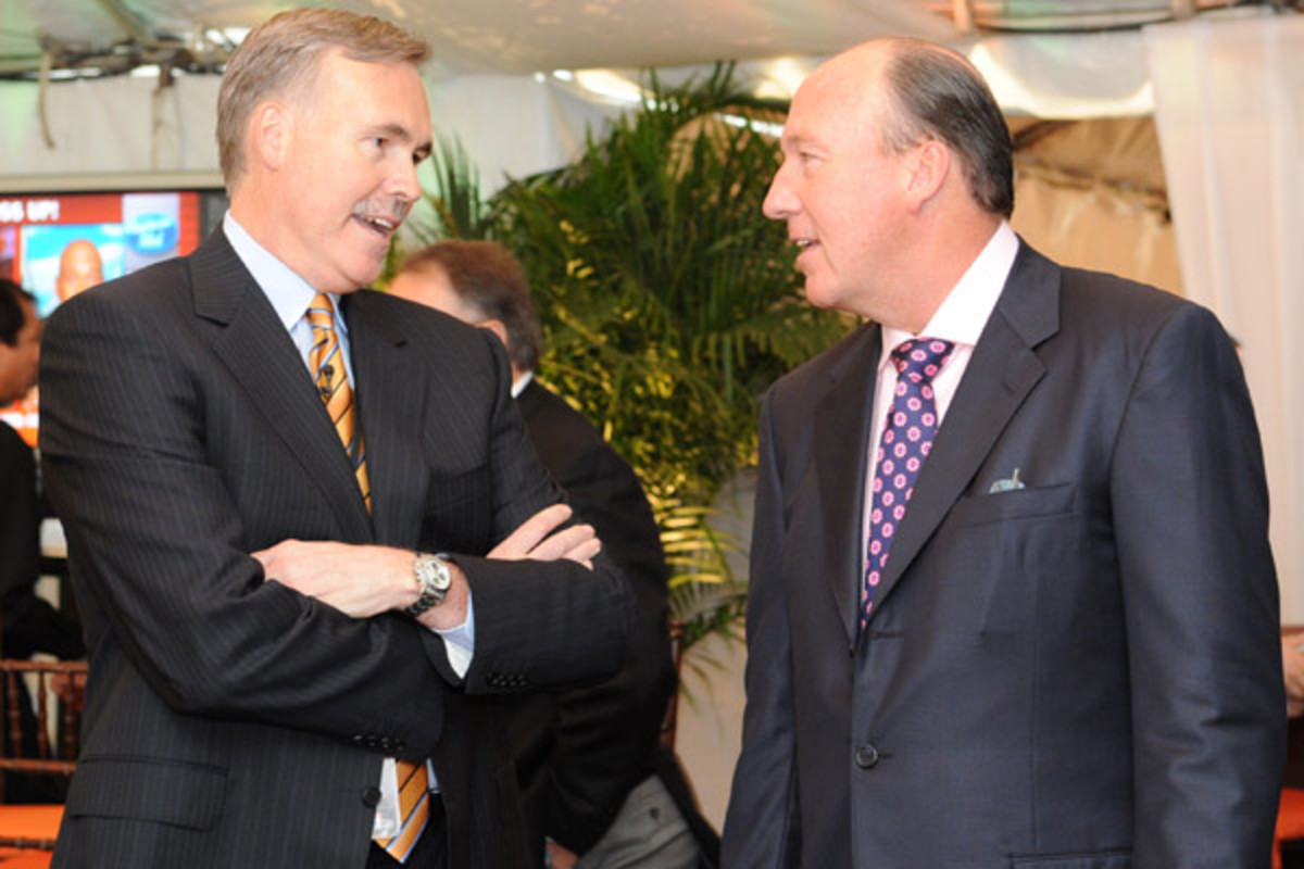 Mike D'Antoni and Mike Dunleavy