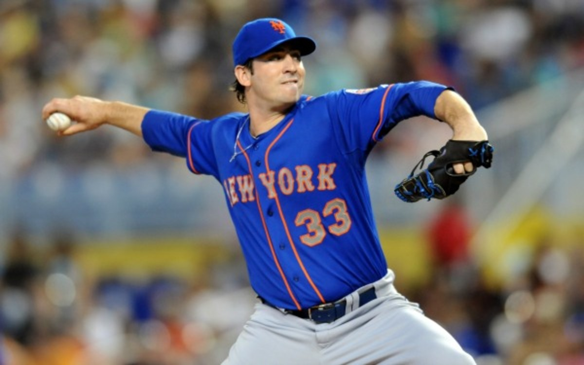 New York Mets pitcher Matt Harvey will have a second MRI on his elbow next week. (Steve Mitchell/Getty Images)