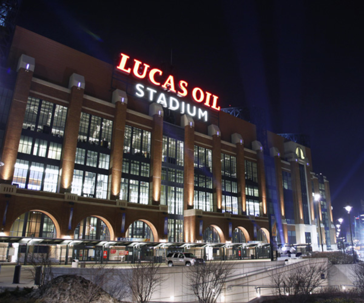 Lucas Oil Stadium (Photo by Joe Robbins/Getty Images)