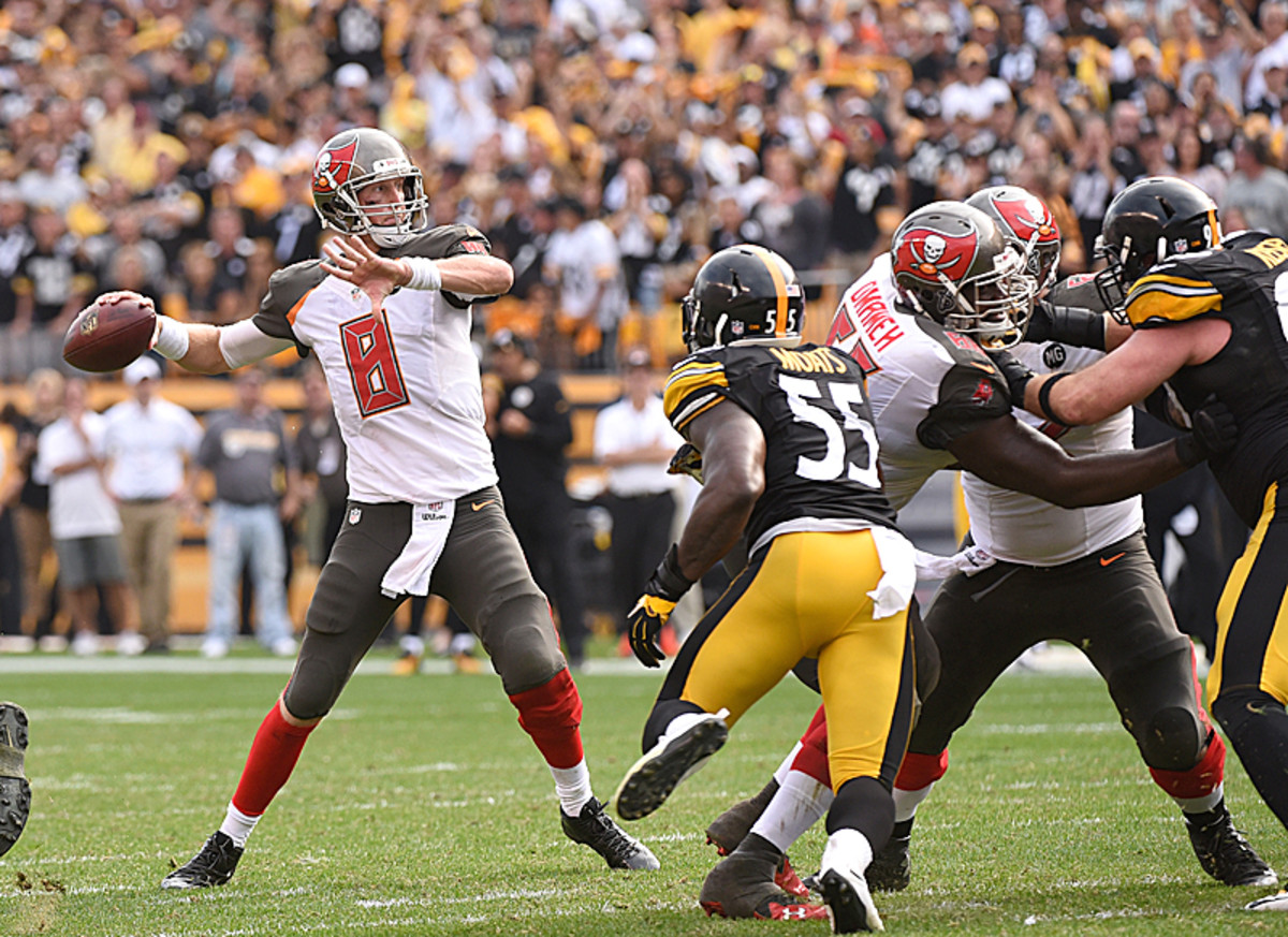 Mike Glennon was an unlikely hero in Pittsburgh. (George Gojkovich/Getty Images)
