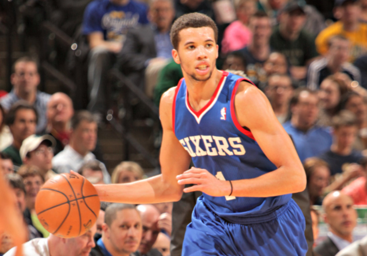 Who will be running with Michael Carter-Williams in Philly next season? (Ron Hoskins/NBAE via Getty Images)
