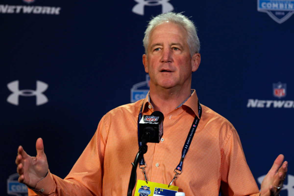 John Fx is one of many coaches looking for new answers after what happened to the Dolphins. (Michael Conroy/AP)