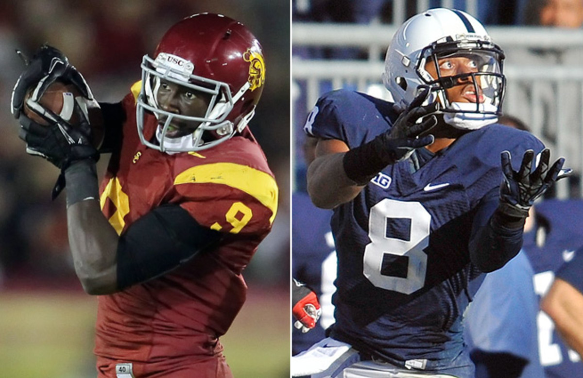 After drafting Blake Bortles, the Jags added weapons in Marqise Lee (left), Allen Robinson (right).