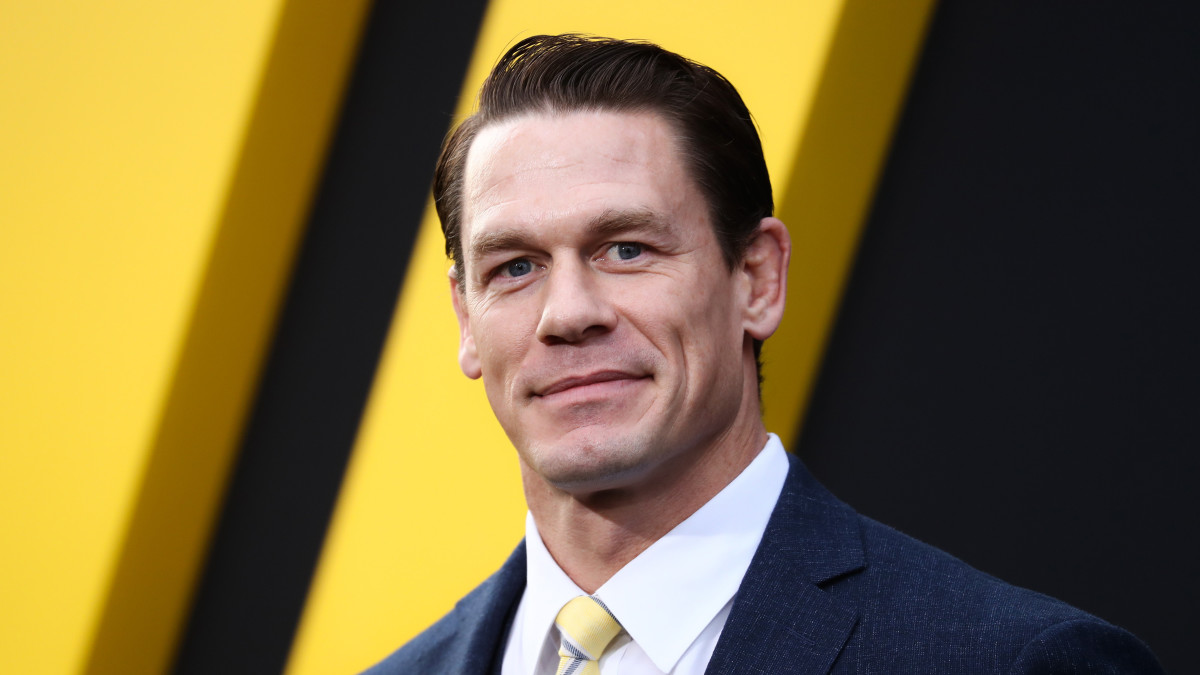 WWE wrestler/actor John Cena on the red carpet