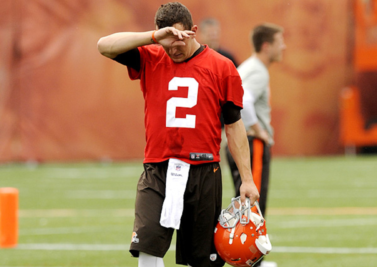 Cleveland Browns defend handling of Johnny Manziel this NFL offseason
