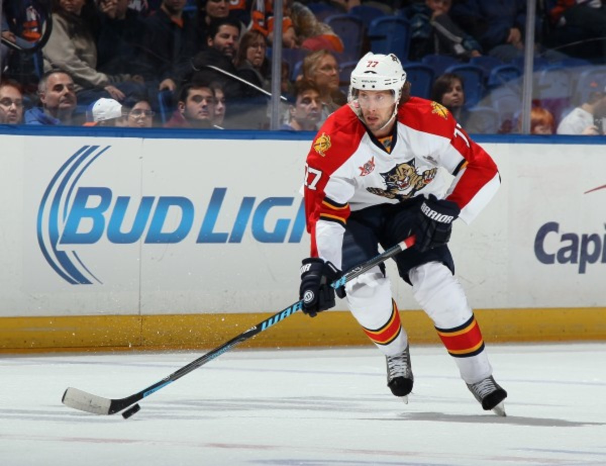 Tom Gilbert will become an unrestricted free agent after this season after his one-year deal for $900,000 expires. (Bruce Bennett/Getty Images)