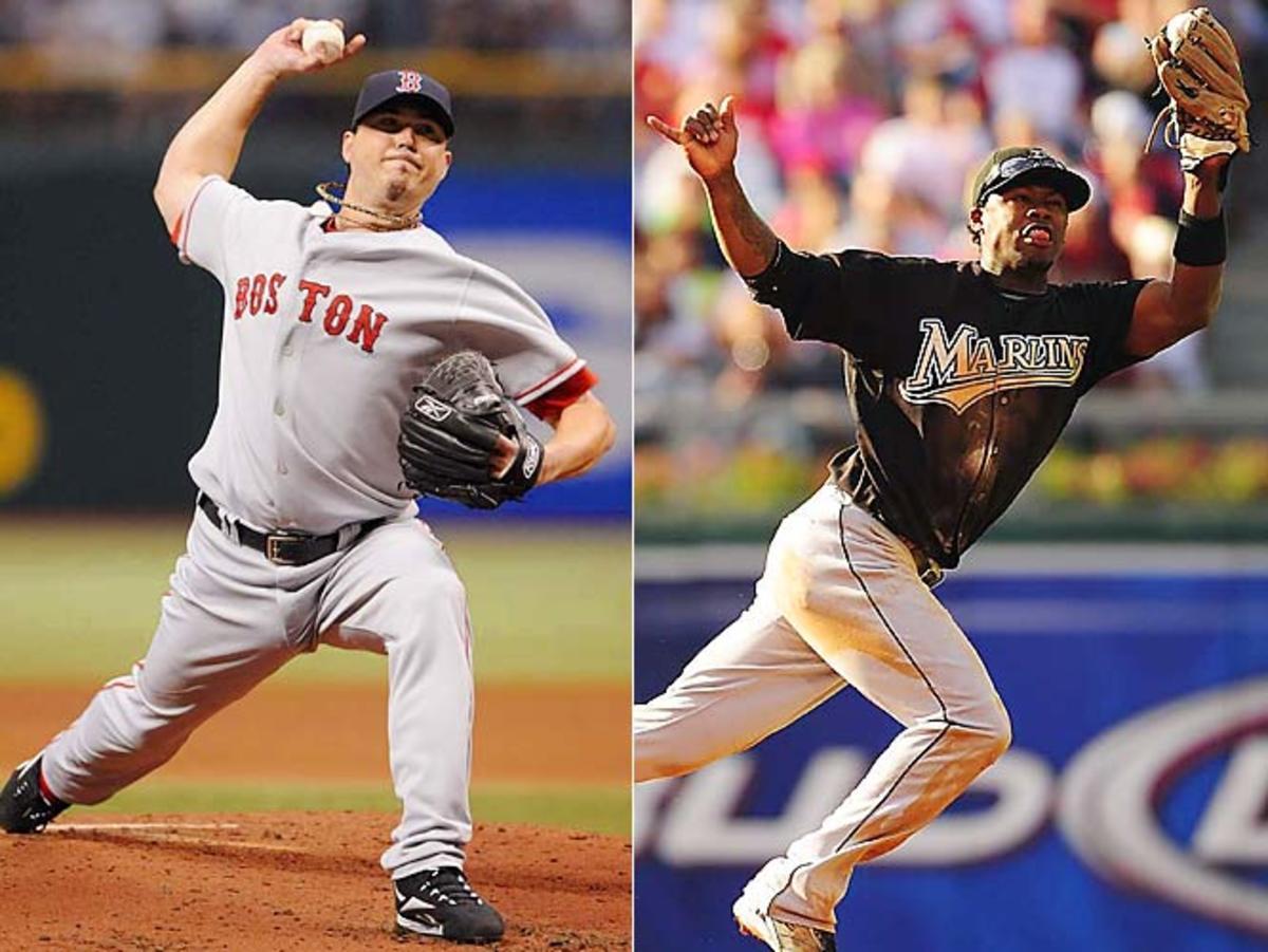 Marlins-Red Sox, November 2005