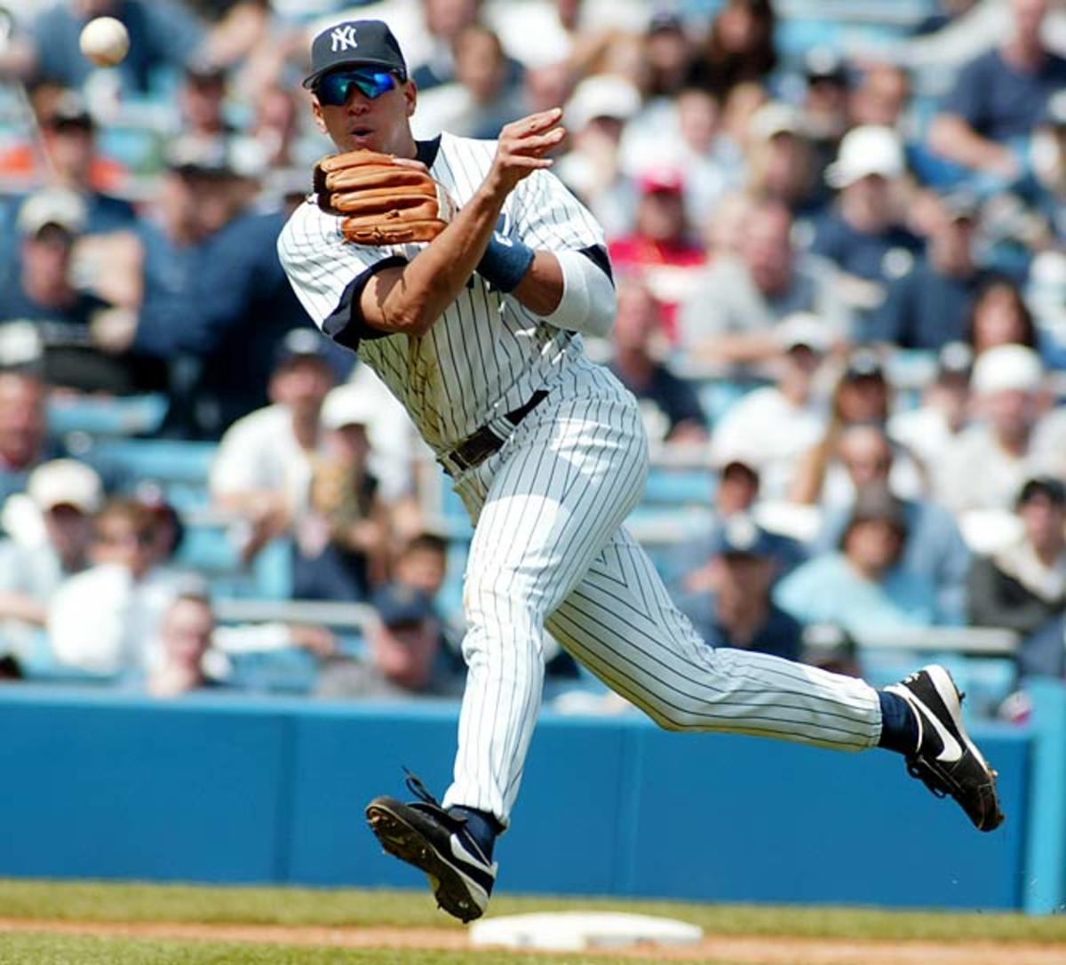 Yankees-Rangers, February 2004