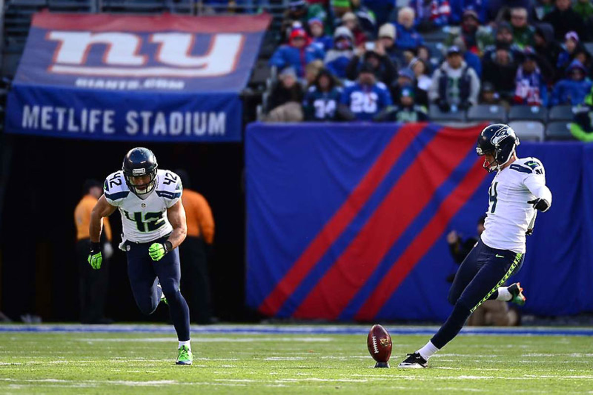 The winds generally blow in from both endzones, which could make touchbacks tough for Steven Hauschka and his Denver counterpart. (Carlos M. Saavedra/SI/The MMQB)