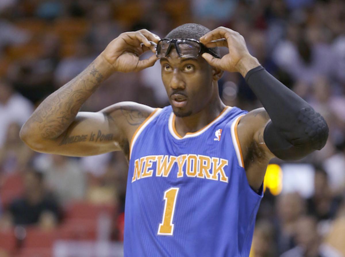 Amar'e Stoudemire is set to make $23.4 million next season if he returns to the Knicks (Wilfredo Lee/AP)