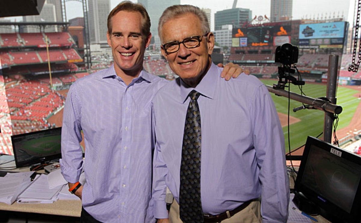 Tim McCarver worked with Joe Buck (left) on Fox's MLB broadcasts from 1996 to 2013.