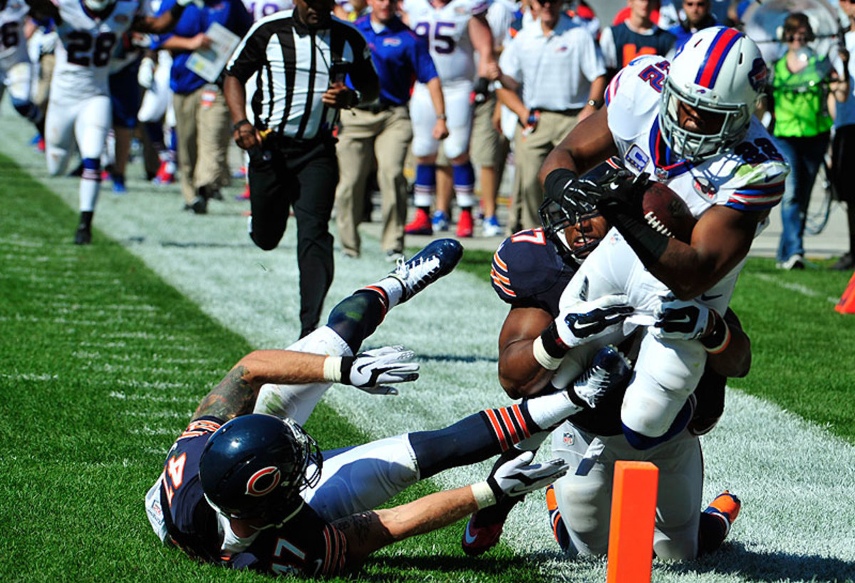 Fred Jackson and the Bills stunned the Bears in Chicago for a Week 1 victory. (David Banks/Getty Images)