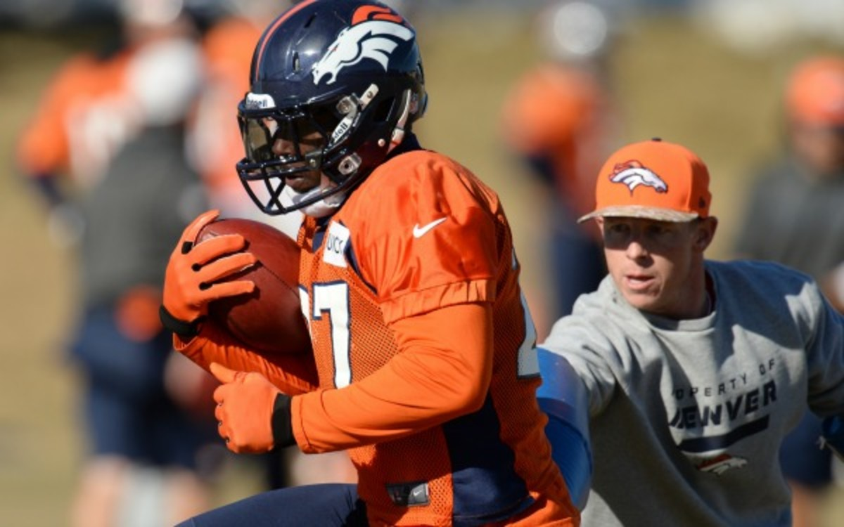 A rib injury will not keep Knowshon Moreno out of the Super Bowl, who said he expects to play next Sunday. (Hyoung Chang/Getty Images)