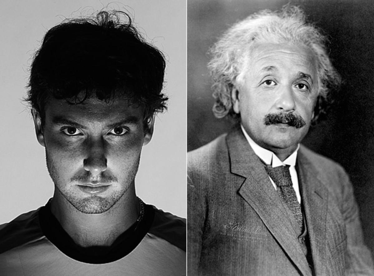 Ernests Gulbis and Albert Einstein