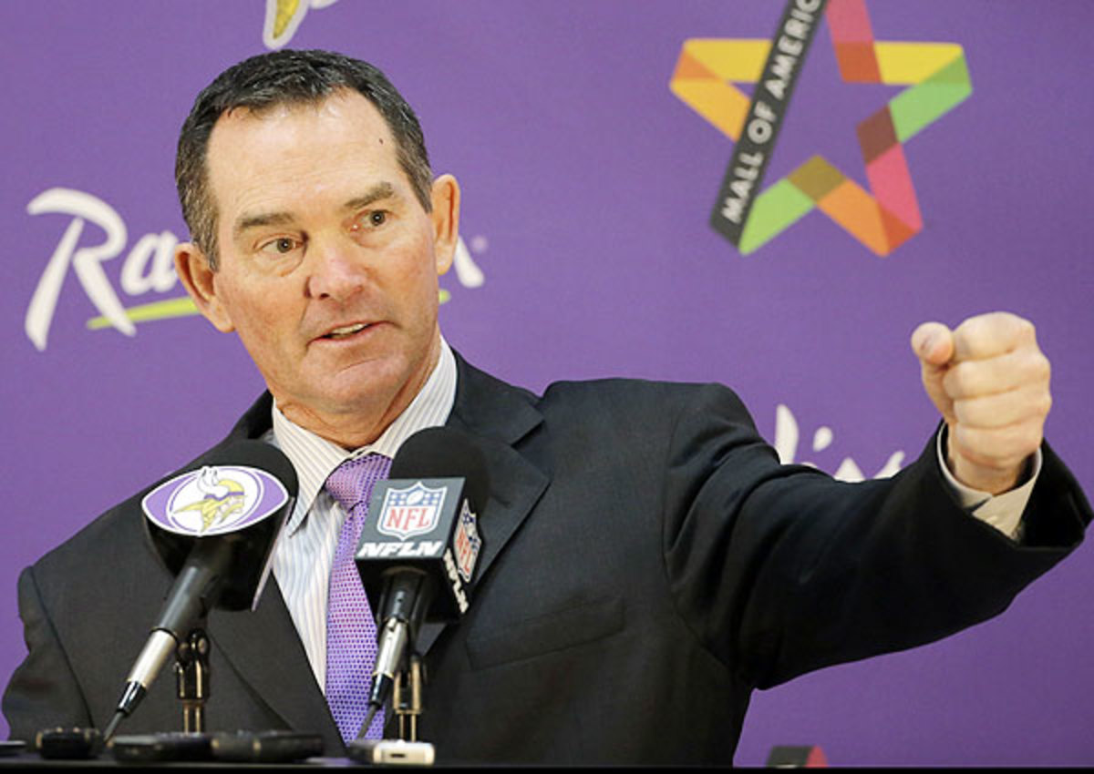 Minnesota Vikings head coach Mike Zimmer will assess Johnny Manziel's maturity and leadership at his upcoming pro day.