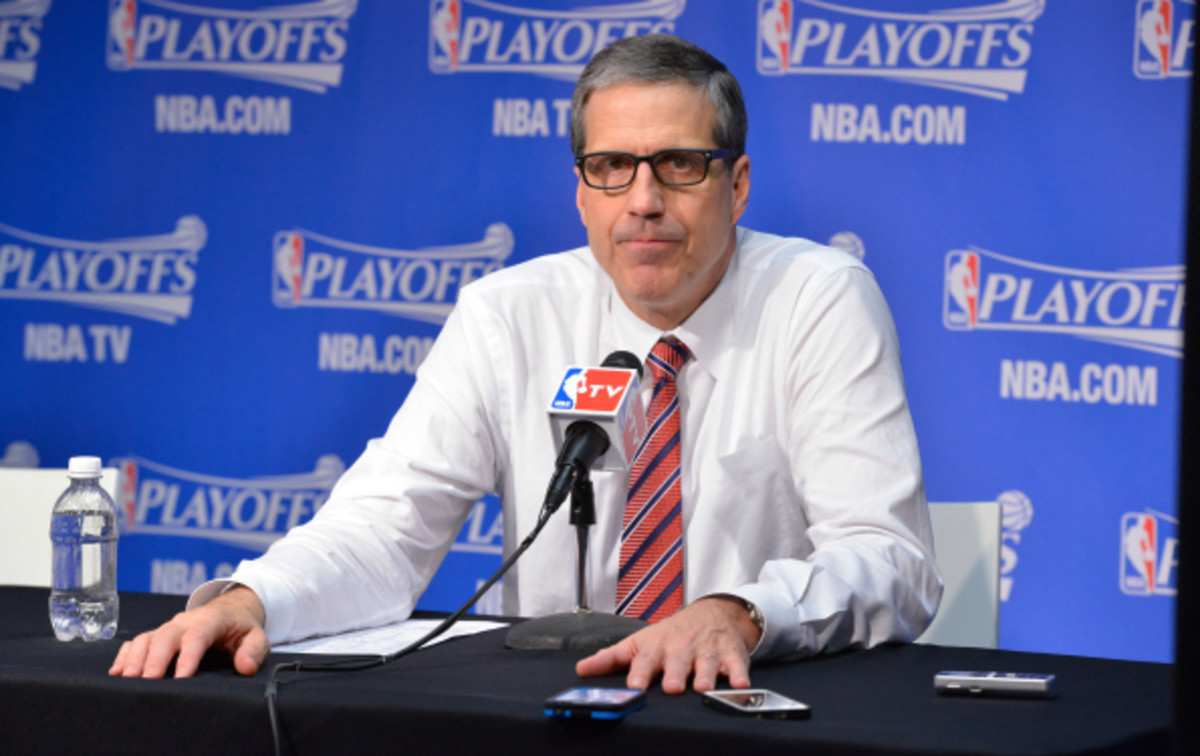 Randy Wittman has previously served as head coach of the Minnesota Timberwolves and Cleveland Cavaliers. (David Dow/National Basketball)