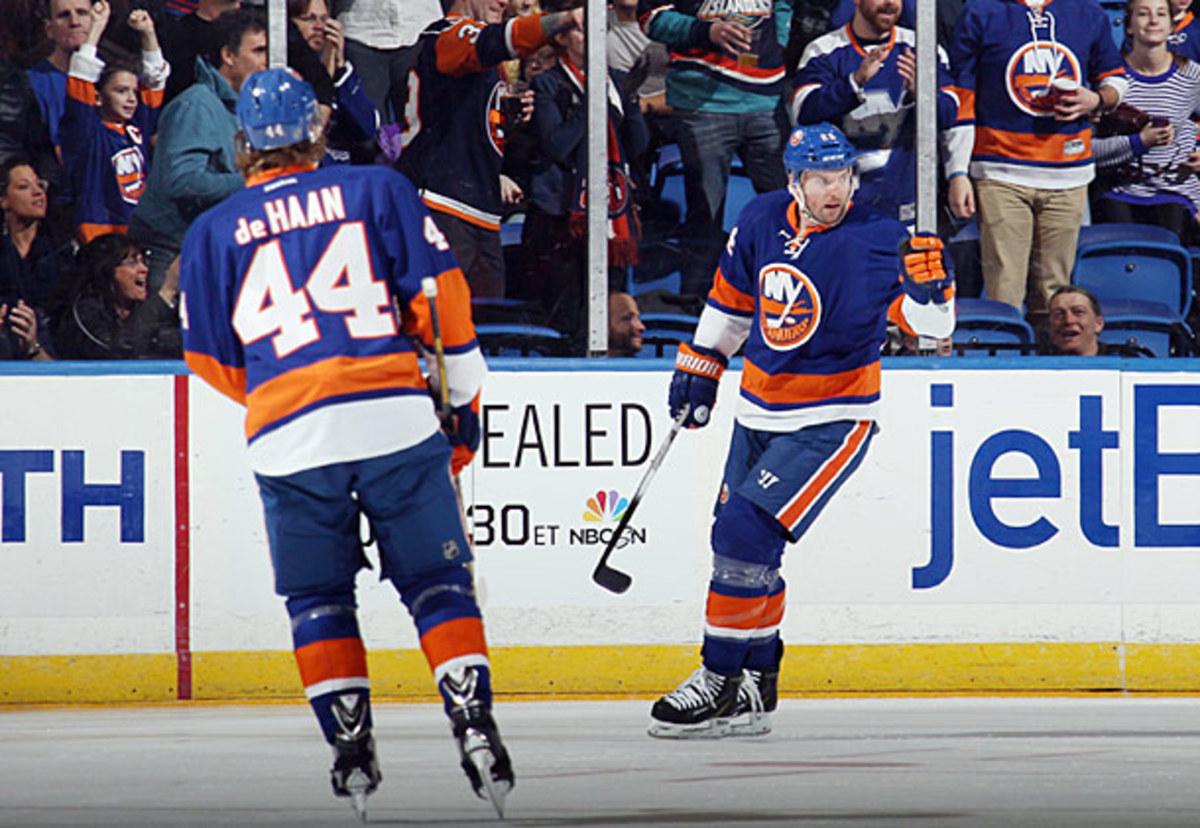 Thomas Vanek of the New York Islanders