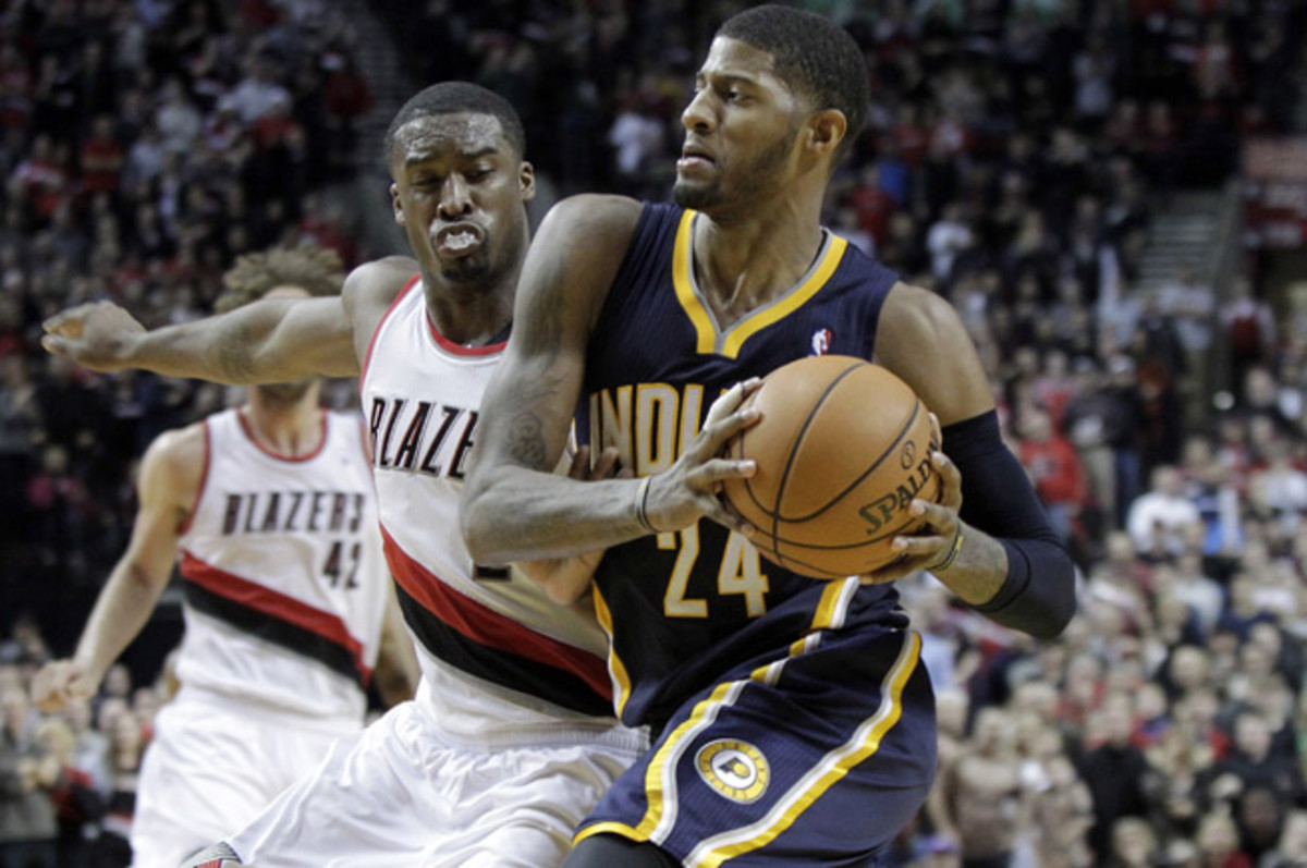 Paul George and the red-hot Pacers lead the No. 2 Trail Blazers in this week's Power Rankings.