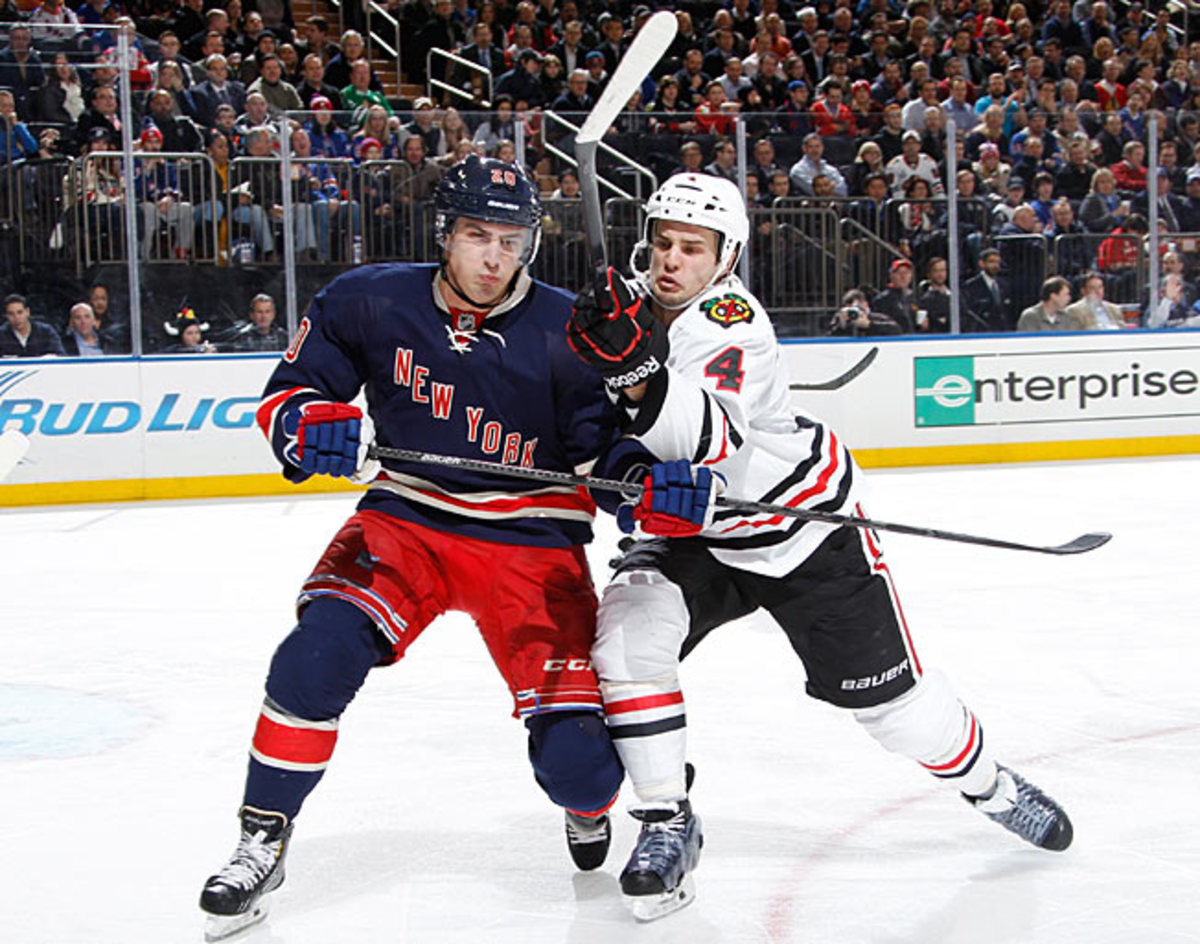 The loss of winger Chris Kreider will surely affect the Rangers' pursuit of a playoff berth.