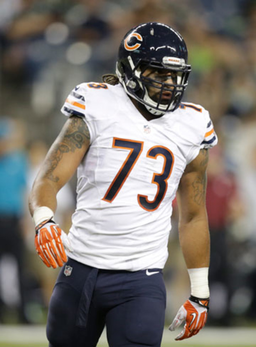 Lane felt this was the most productive of his five NFL training camps. Stephen Brashear/AP)