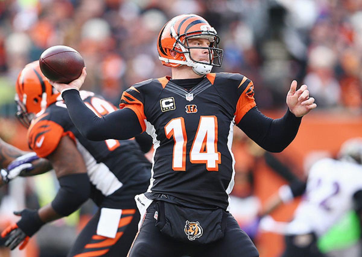 Cincinnati Bengals reportedly in contract talks with quarterback Andy Dalton