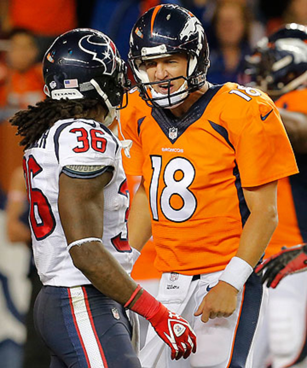 Maybe Manning was simply seeking advice on how to play free safety when he confronted D.J. Swearinger in the preseason. (Joe Mahoney/AP)