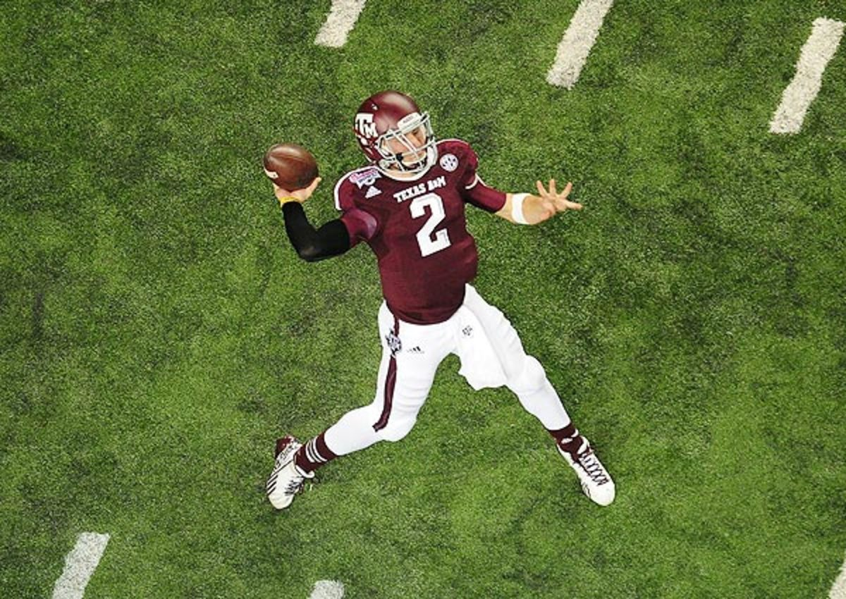 Johnny Manziel's ability to make plays could offset any concerns about his arm strength.