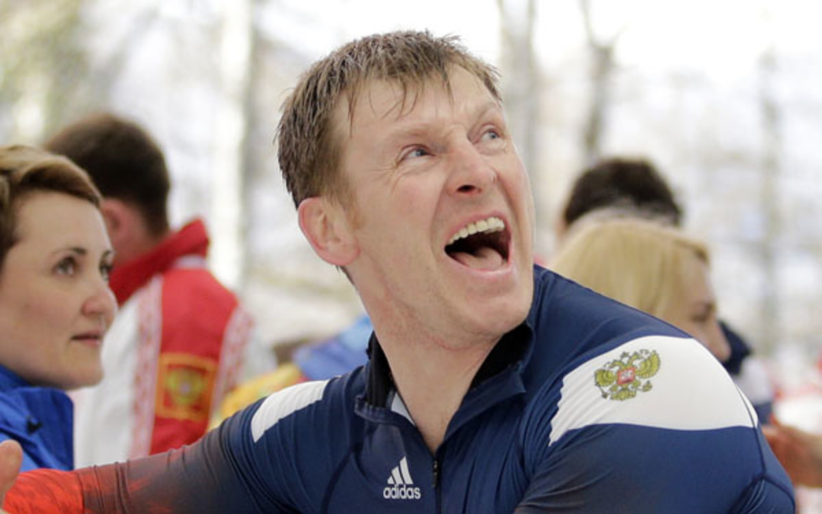 Alexander Zubkov has won two golds, one silver and one bronze metal in his Olympic career. (AP Photo/Jae C. Hong)
