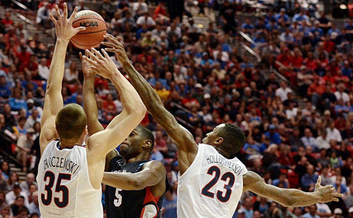 Kaleb Tarczewski and Rondae Hollis-Jefferson, Arizona Wildcats