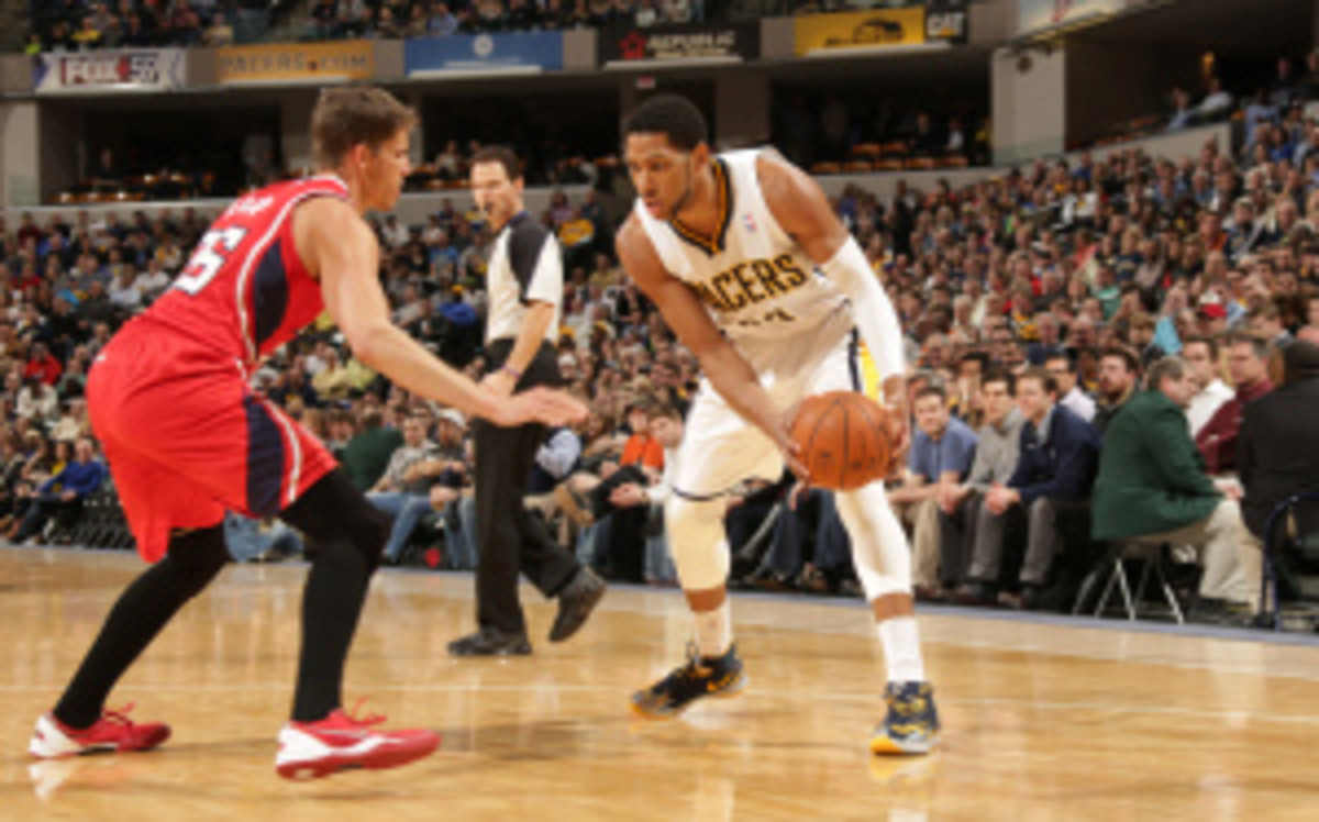 Danny Granger was named an All-Star in 2009, the same season in which he won the league's Most Improved Player award. (Ron Hoskins/Getty Images)