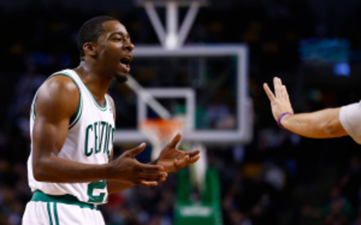 In 39 games for the Celtics this season, Crawford averaged 15.7 points and 5.7 assists. (Jared Wickersham/Getty Images)