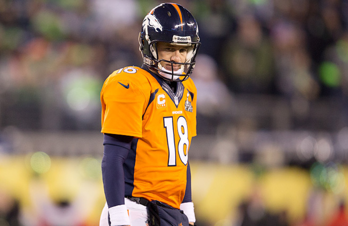'Just because you were there [at the Super Bowl] last year doesn't guarantee you anything,' Peyton Manning said.