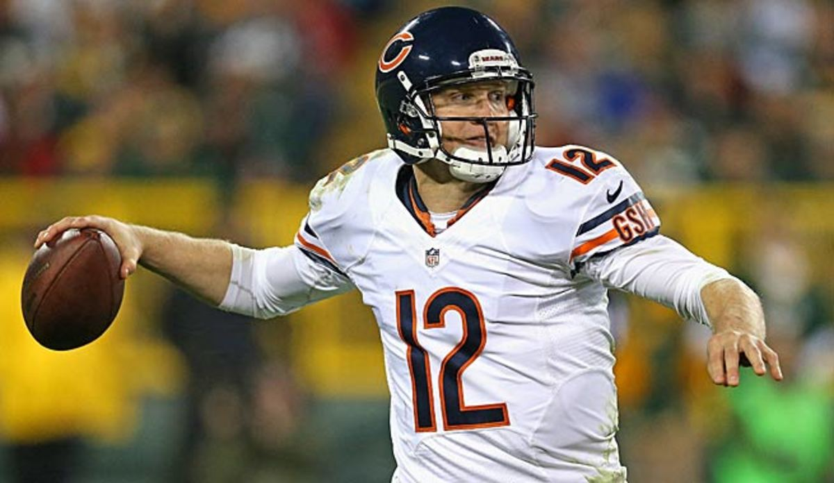 After proving himself in Chicago, Josh McCown will likely start at QB for Tampa Bay this year.