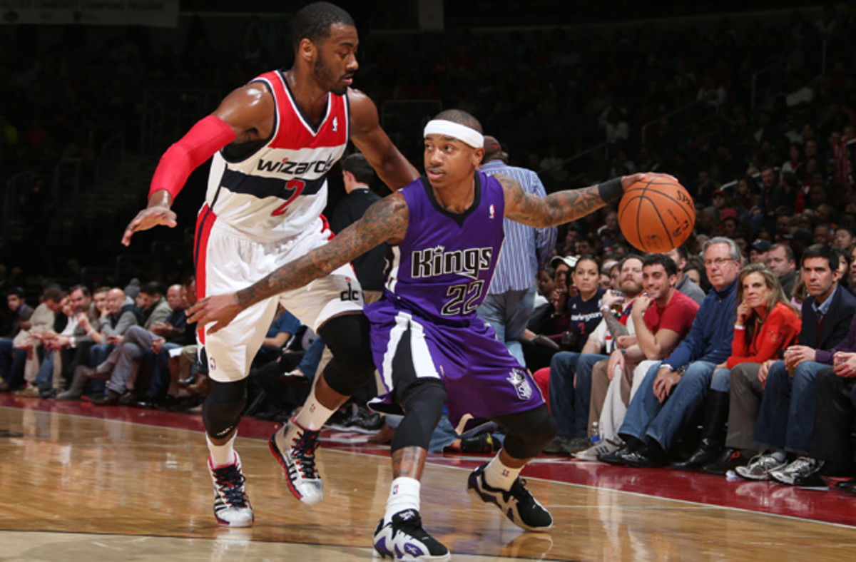 Isaiah Thomas is one of five players averaging at least 20 points and six assists per game this season.