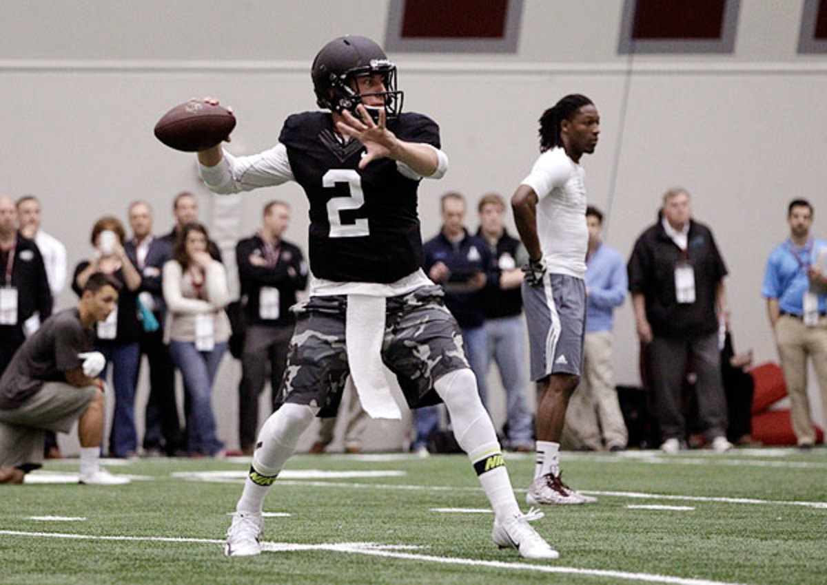 Cleveland Browns, Chicago Bears skip Johnny Manziel's pro day at Texas A&M