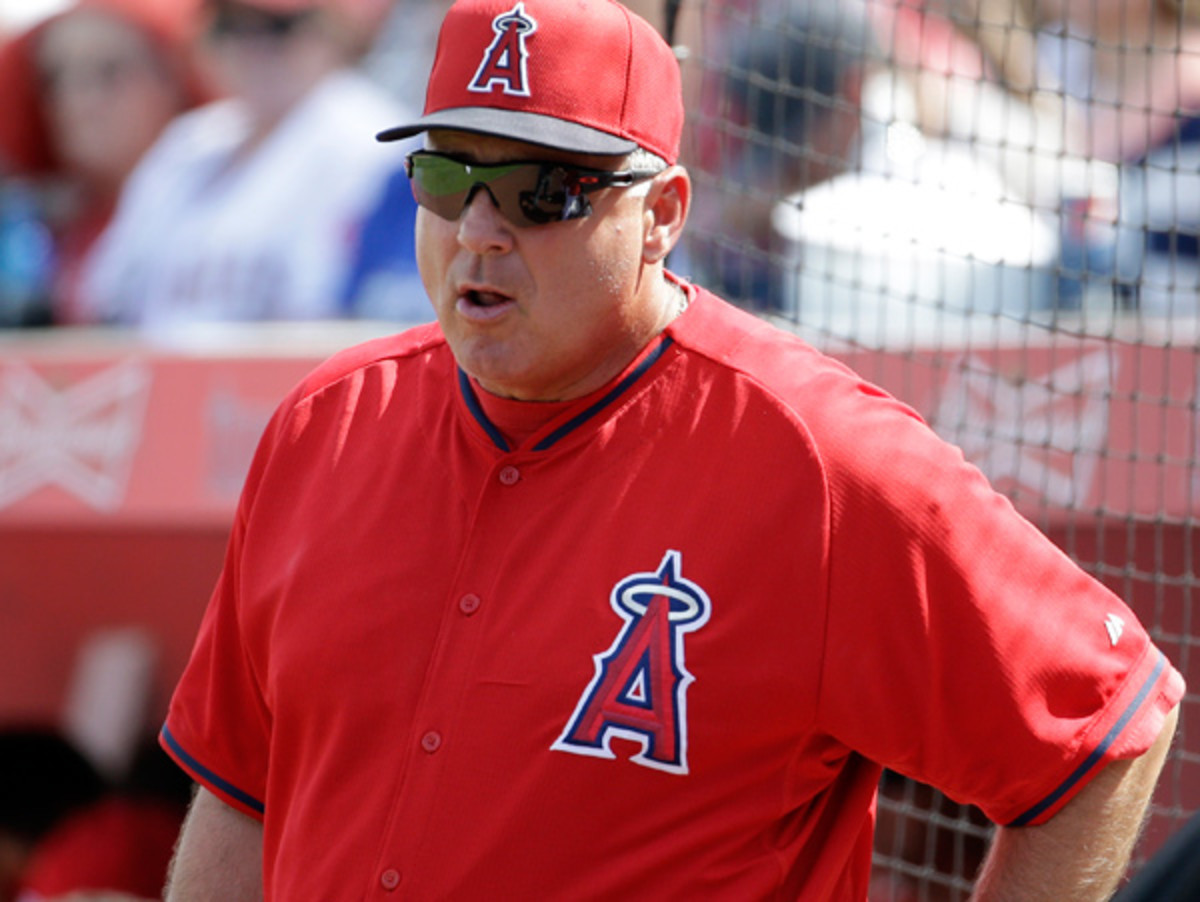 Mike Scioscia has been in charge of the Angels since the 2000 season. (Morry Gash/AP)