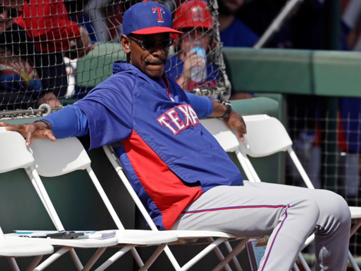 Ron Washington got a one-year extension in the offseason, but how safe is he? (Morry Gash/AP)