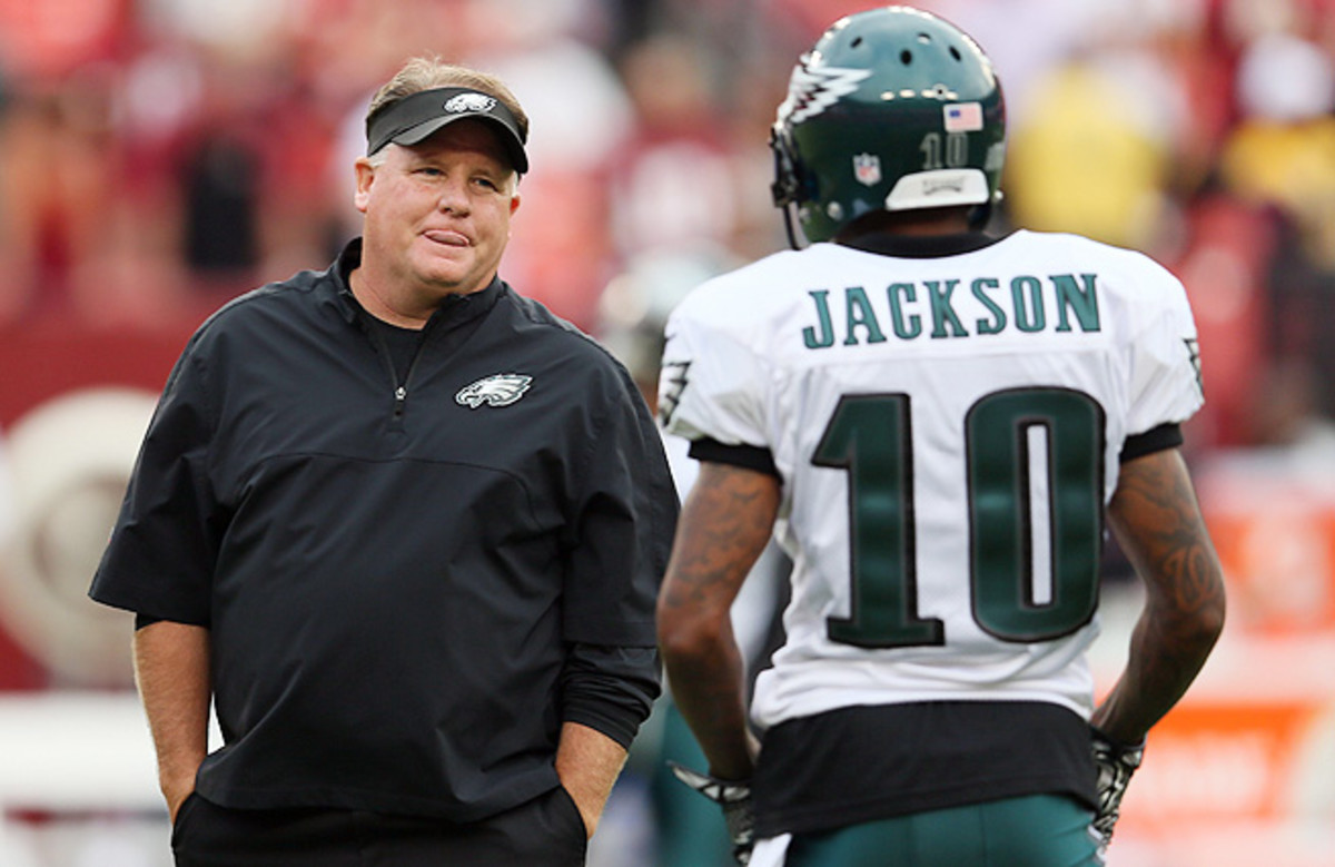 DeSean Jackson led the Eagles in catches, receiving yards and TDs, but the Eagles deemed him expendable.