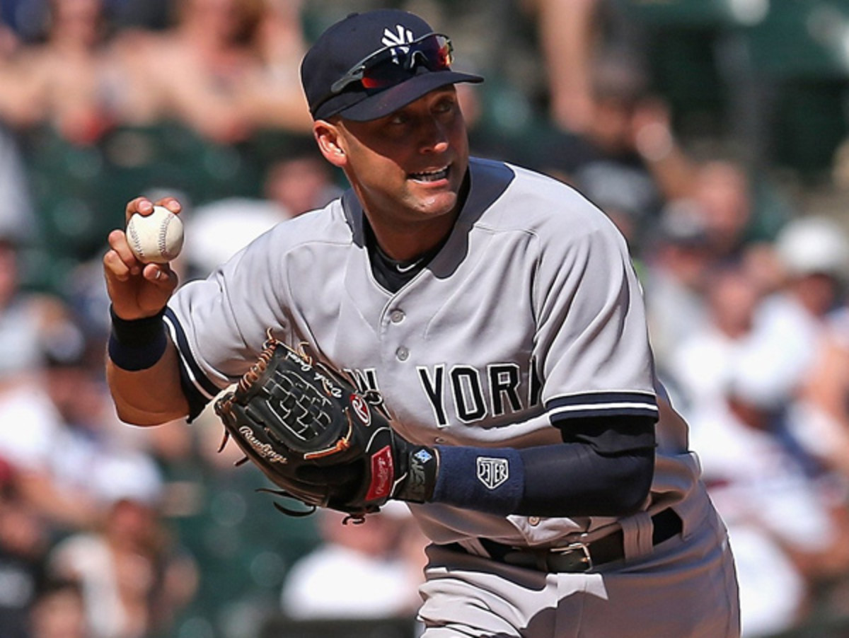 Derek Jeter is in line to start his TK All-Star Game in his final season. (Jonathan Daniel/Getty Images)