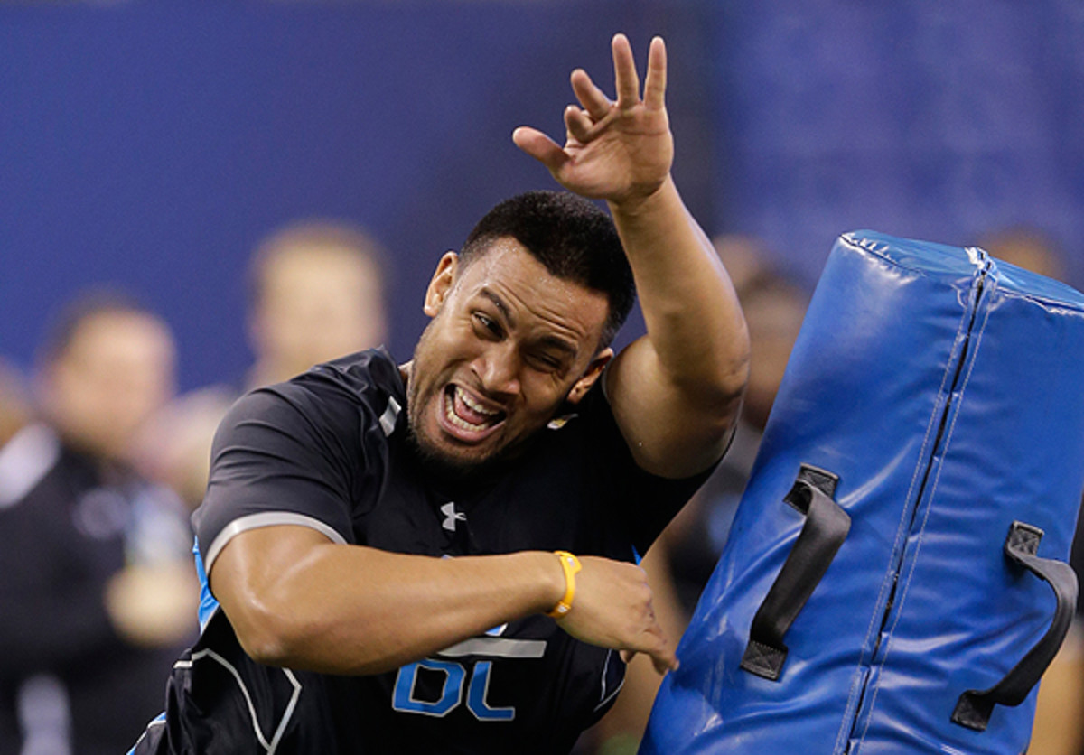 Scott Crichton, Oregon State, 2014 NFL Draft: There's a lot behind Scott Crichton's determination to succeed.