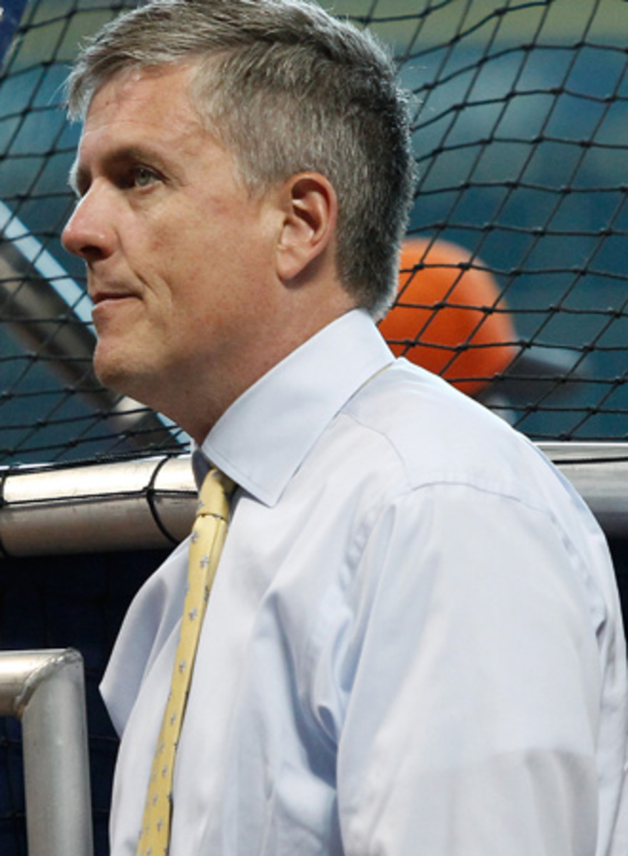 Astros general manager Jeff Luhnow, whose team had the No. 1 pick for a third straight year.