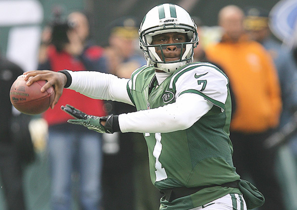 New York Jets QB Geno Smith has not thrown a touchdown since October.