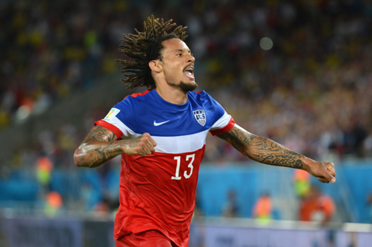 Jermaine Jones played a big role in the USA's 2-1 win over Ghana, both assisting on Clint Dempsey's goal and covering valuable ground to frustrate the Ghanaian attack.