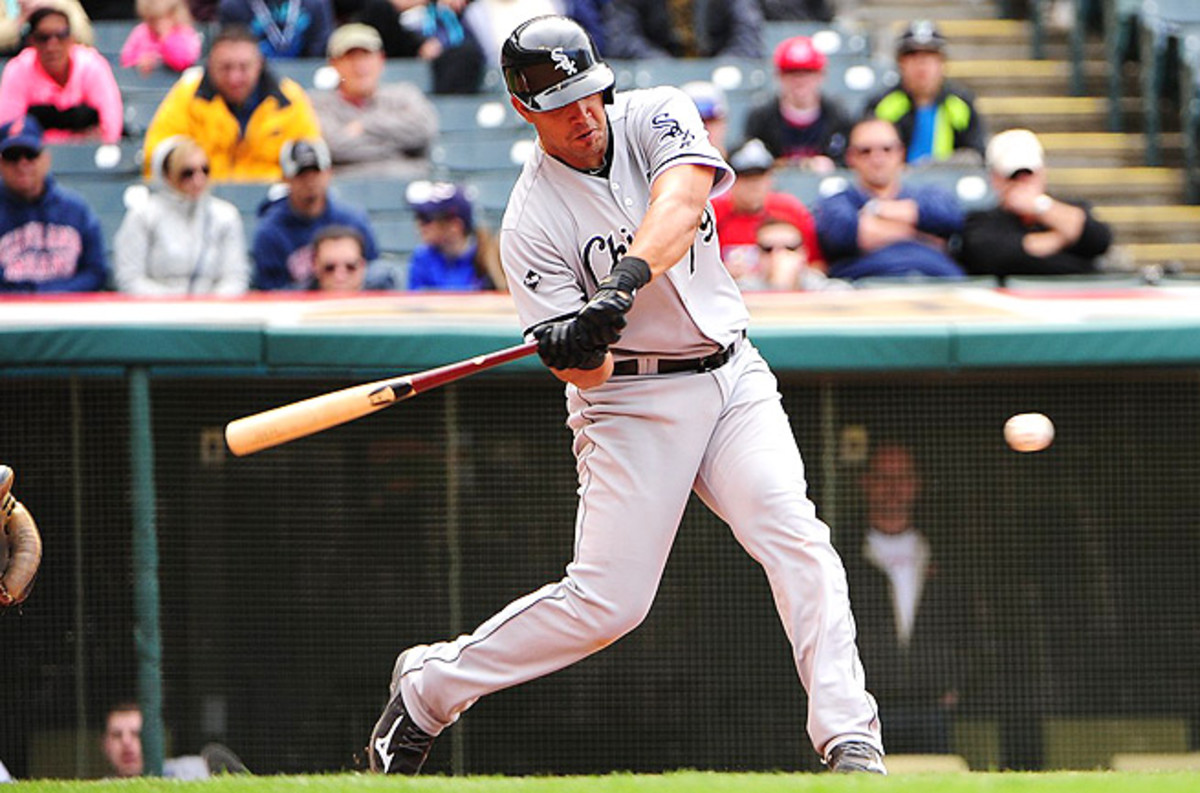 Despite missing two weeks for an ankle injury, Jose Abreu has 17 home runs and 47 RBI this season.